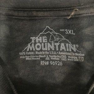 The Mountain Shirts - The Mountain husky T shirt in black
